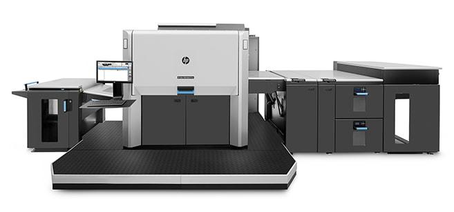 машина HP Indigo 12000